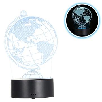 Premium 3D Lampada a LED / Lampada da notte 3W Globo