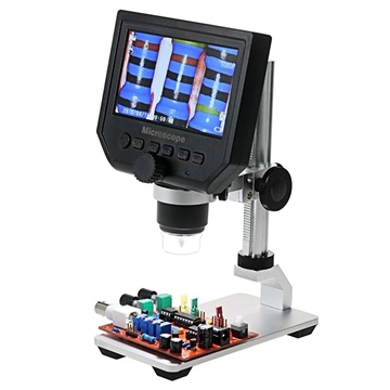 600X Microscope with 4.3 HD LCD Display and LED Light