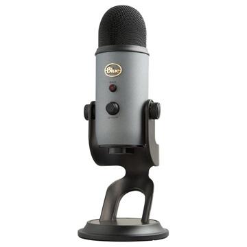 Blue Yeti Professional Multi Pattern USB Microphone Grey / Black