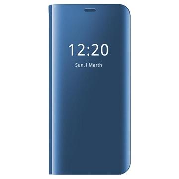 Clear View Huawei Mate 20 Lite Flip Case Blue