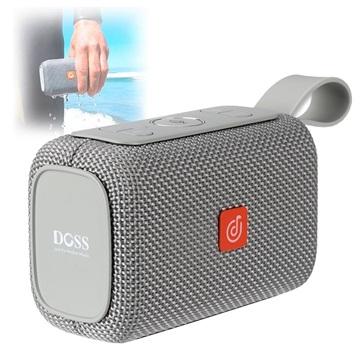 Altoparlante Bluetooth Impermeabile Doss E go Grigio