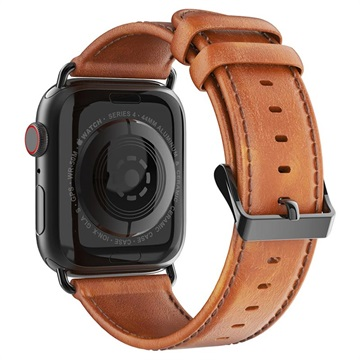 Dux Ducis Apple Watch Series 4/3/2/1 Leather Strap 42mm, 44mm Brown