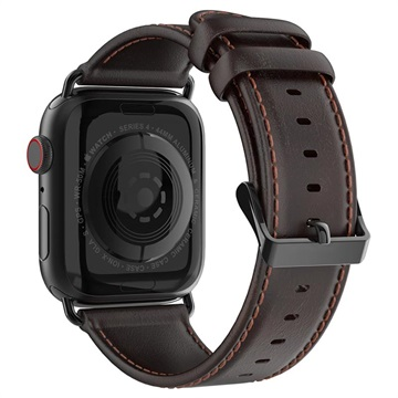 Dux Ducis Apple Watch Series 4/3/2/1 Leather Strap 42mm, 44mm Coffee