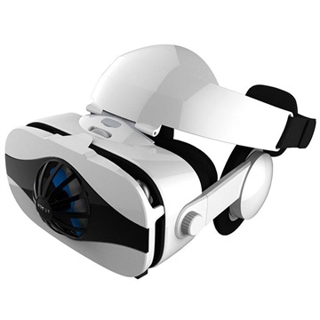 Fiit VR 5F Virtual Reality 3D Glasses with Headphones 4 6.3