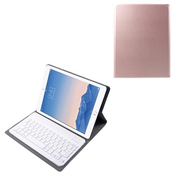 iPad 2, iPad 3, iPad 4 Folio Case w/ Detachable Keyboard Rose Gold