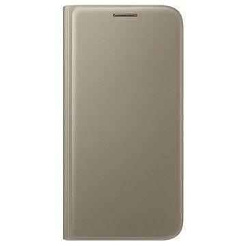 Samsung Galaxy S7 Custodia Portafoglio EF-WG930PF- Color Oro