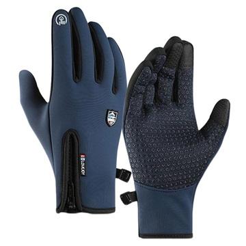 Golovejoy Winds Stopper Waterproof Touchscreen Gloves M Blau