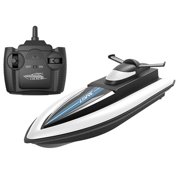 LSRC Remote Control Speedboat with Rechargeable Battery Black