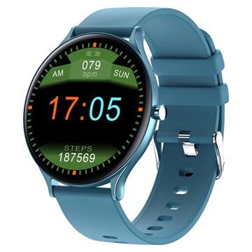Lemonda Smart QW13 Smartwatch with Blood Pressure Blue