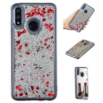 Liquid Glitter Series Huawei P Smart (2019) TPU Case Silver