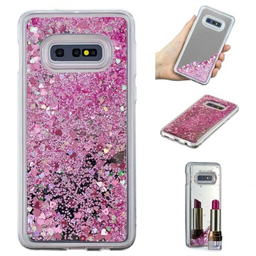 Liquid Glitter Series Samsung Galaxy S10e TPU Case Pink