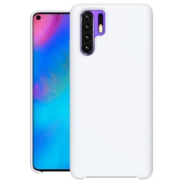 Huawei P30 Pro Liquid Silicone Case White
