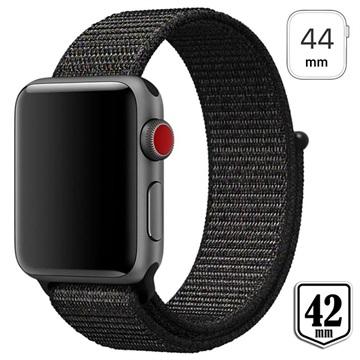 Apple Watch Series 4/3/2/1 Nylon Strap 44mm, 42mm Black
