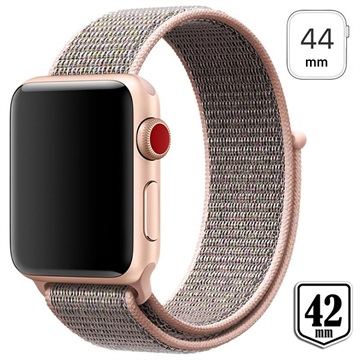 Apple Watch Series 4/3/2/1 Nylon Strap 44mm, 42mm Rose Gold