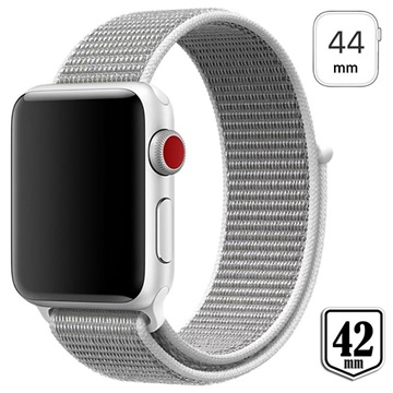 Apple Watch Series 4/3/2/1 Nylon Strap 44mm, 42mm White