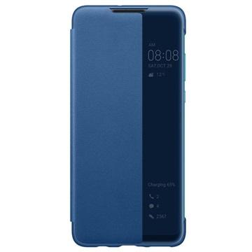 Custodia a Flip Smart View per Huawei P30 Lite 51993077 Blu