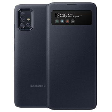 Custodia S View Wallet per Samsung Galaxy A51 EF EA515PBEGEU Nera