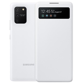 Custodia S View Wallet per Samsung Galaxy S10 Lite EF EG770PWEGEU Bianca