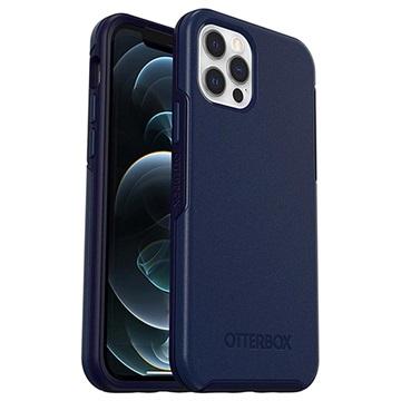 Cover Antimicrobico OtterBox Symmetry+ per iPhone 12/12 Pro Blu