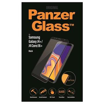 Pellicola Protettiva per Samsung Galaxy J4+/J6+ PanzerGlass Nero