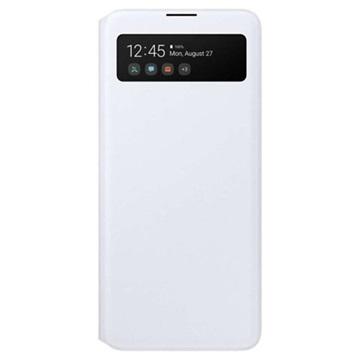 Custodia S View Wallet per Samsung Galaxy A71 EF EA715PWEGEU Bianco