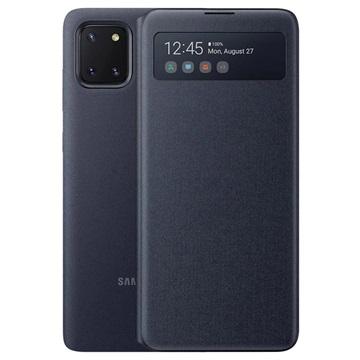 Custodia S View Wallet per Samsung Galaxy Note10 Lite EF EN770PBEGEU Nera