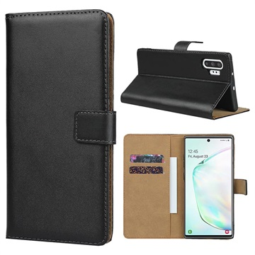 Samsung Galaxy Note10+ Wallet Leather Case Black