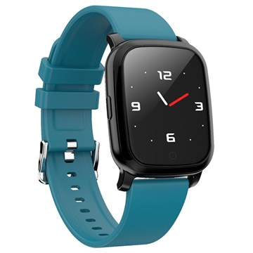 Waterproof Bluetooth Sports Smartwatch CV06 Silicone Blue