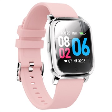 Waterproof Bluetooth Sports Smartwatch CV06 Silicone Pink