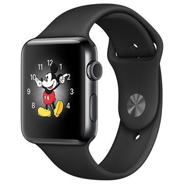 Apple Watch 2 MP4A2ZD/A Cassa in Acciaio Inossidabile Sport band 42MM Grigio Spazio