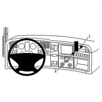 Staffa di Montaggio Brodit 213474 per Scania R series 10 16