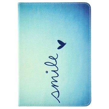 Custodia in Similpelle a Libro iPad Mini, iPad Mini 2, iPad Mini 3 Smile