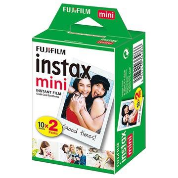 Pellicola Istantanea per Fujifilm Instax Mini 10 x 2 pezzi Bianco