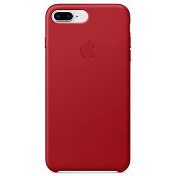 Custodia in Pelle Apple MQHN2ZM/A per iPhone 7 Plus / iPhone 8 Plus Rosso