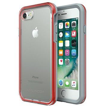 Cover LifeProof Slam per iPhone 7 / iPhone 8 Grigia / Rossa