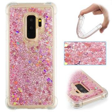 Samsung Galaxy S9+ Liquid Glitter Case Pink