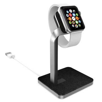 Base con Supporto Mophie Watch per Apple Watch Argento / Nero