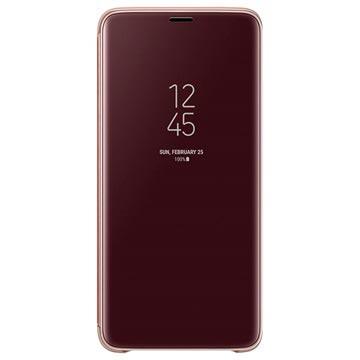 Clear View Cover EF ZG965CFEGWW per Samsung Galaxy S9+ Oro
