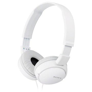 Cuffie Stereo Sony MDR ZX110W Bianco