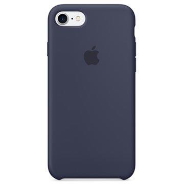 Custodia in Silicone Apple MQGM2ZM/A per iPhone 7 / iPhone 8 Blu Mezzanotte