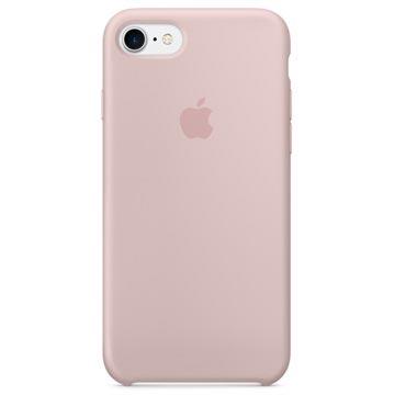 Custodia in Silicone Apple MQGQ2ZM/A per iPhone 7 / iPhone 8 Rosa Sabbia