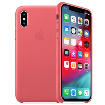 Custodia in Pelle Apple per iPhone XS Max MTEX2ZM/A Rosa