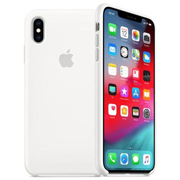 Apple IPhone XS Max Silicone Custodia Nectarine Mtff2zm A Custodia