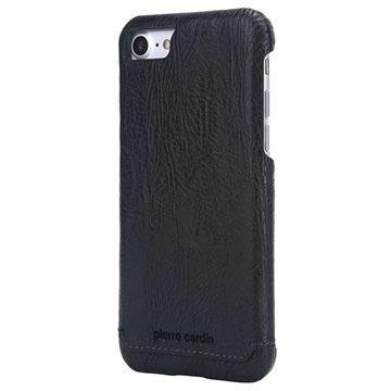 Custodia a Portafoglio in Pelle Pierre Cardin per iPhone 7 / iPhone 8 - Nera