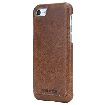 Custodia a Portafoglio in Pelle Pierre Cardin per iPhone 7 / iPhone 8 - Marrone