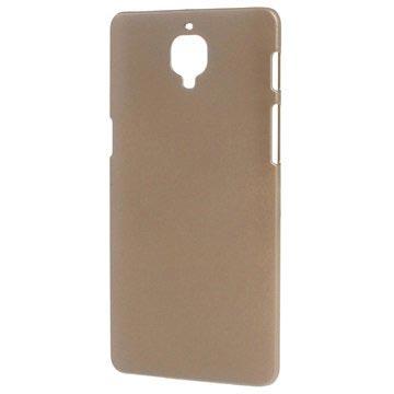 Cover Rivestita in Gomma per OnePlus 3/3T Color Oro
