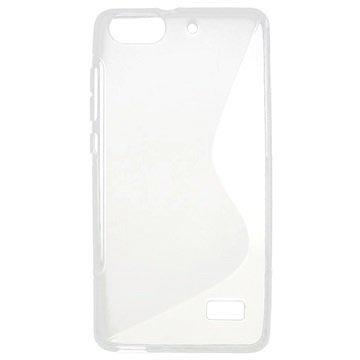 Cover in TPU S-Curve per Huawei Honor 4C - Trasparente