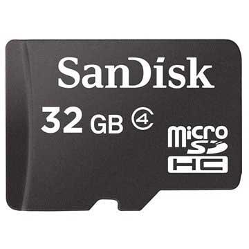 Scheda di Memoria MicroSD / MicroSDHC Sandisk SDSDQM 032G B35A 32GB