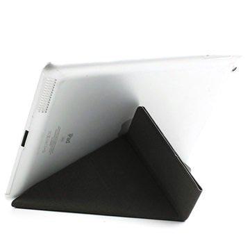 Y Shape Smart Fold Case iPad 2, iPad 3, iPad 4 Black