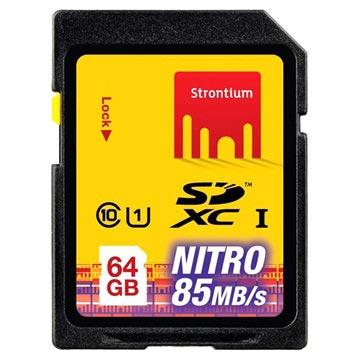 Scheda di Memoria SDXC Strontium Nitro 566X SRN64GSDU1 64GB